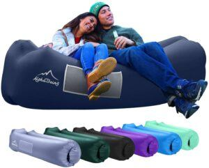AlphaBeing Inflatable Lounger - Best Air Lounger Sofa for Camping, Hiking 充气躺椅
