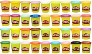Play-Doh Modeling Compound 36 Pack Case of Colors 橡皮泥