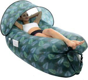 STEPIN Inflatable Lounger Air Sofa with Sunshade 充气沙发躺椅